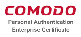 Comodo Personal Authentication Enterprise Certificates