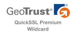 GeoTrust QuickSSL Premium 專業型通配符 DV 證書