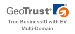 GeoTrust True BusinessID EV Multi-Domain 多域名 EV SSL 證書